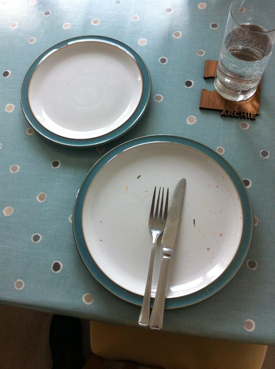 Lunch devoured!