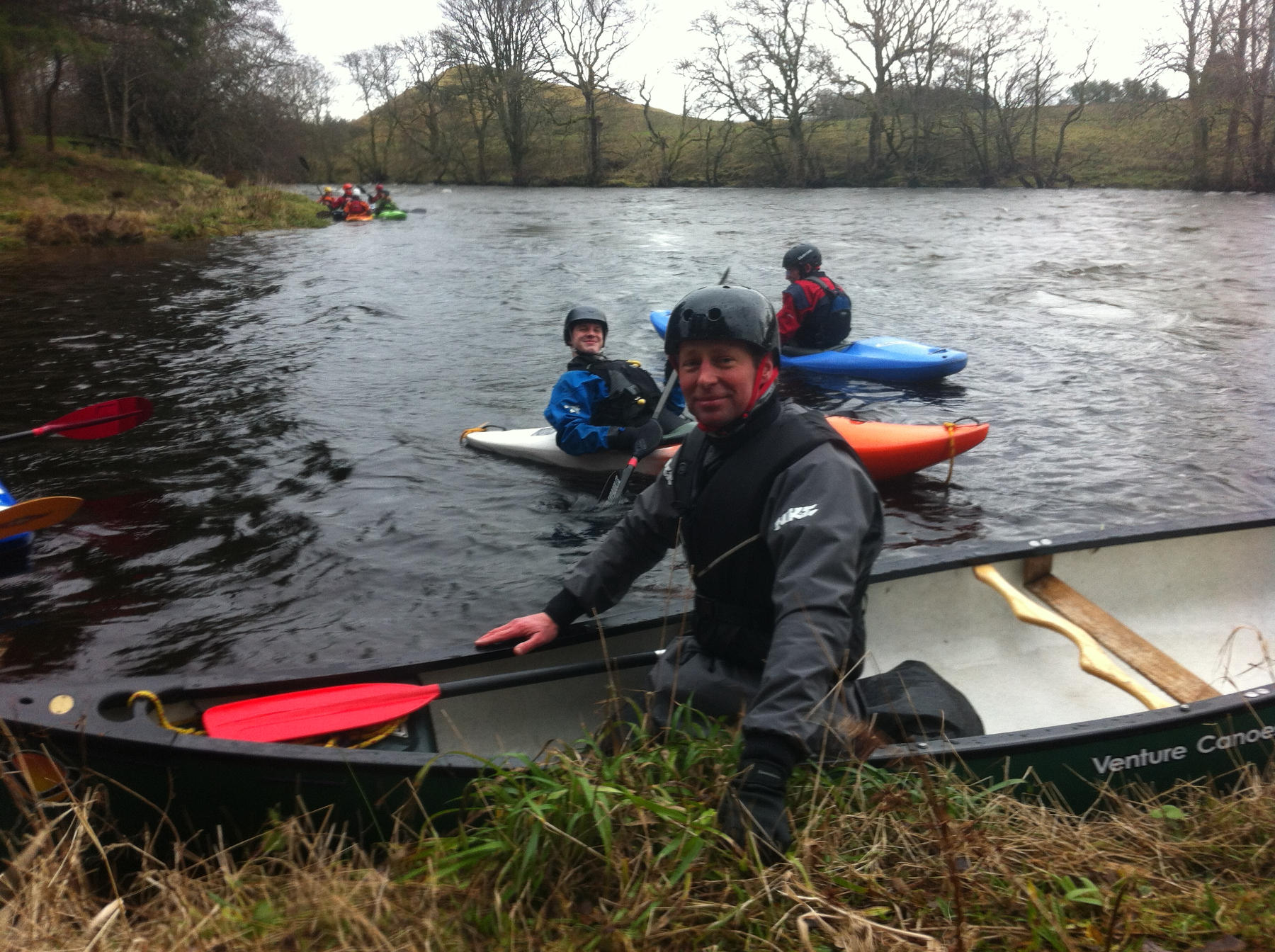 In a Canoe (day 95!) Callander Deanston