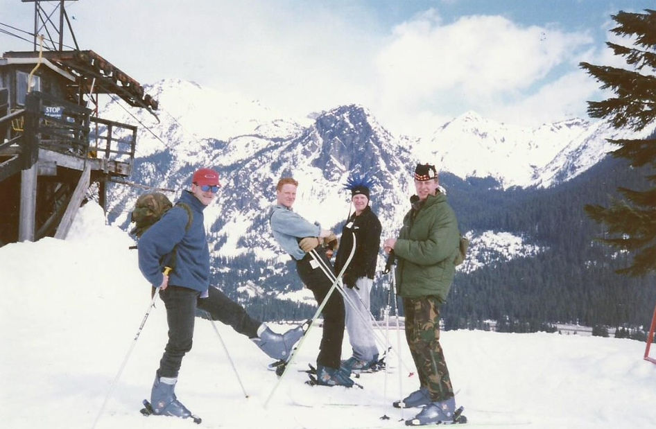 Skiing in Washington State (Archie, Right)