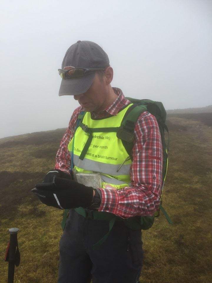 Checking My Bearing To Be Sure Of Taking The Right Path in The Mist