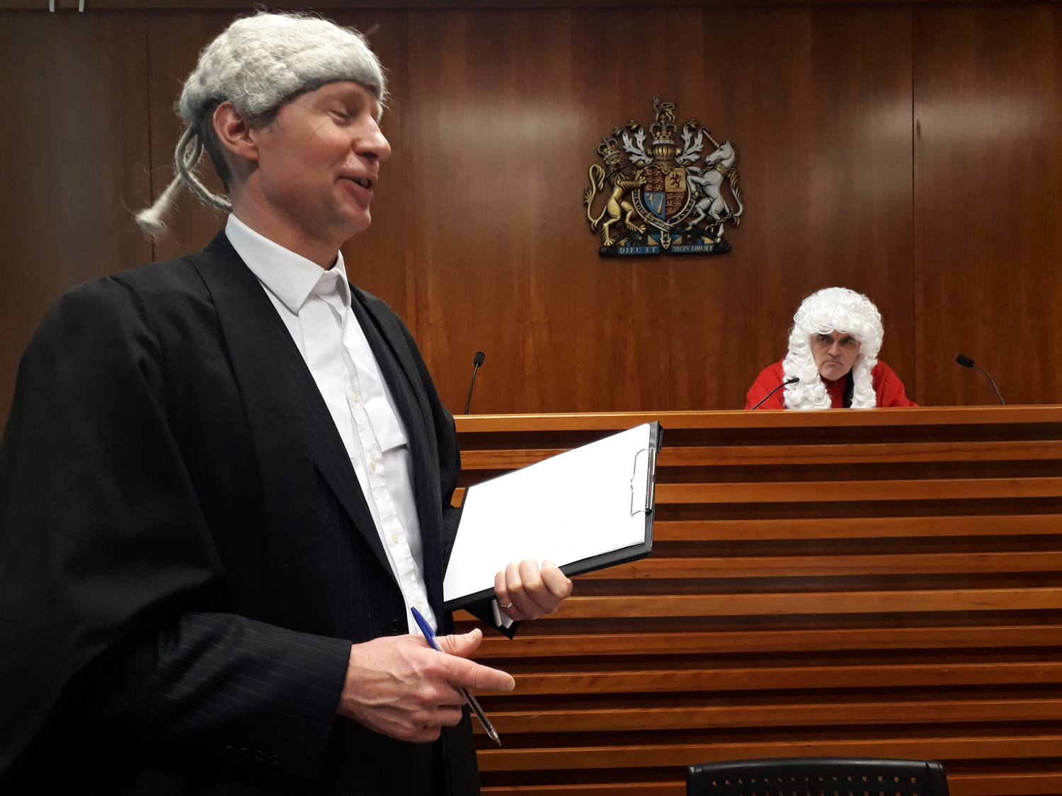 John Williams Defence Barrister Addressing The Jury