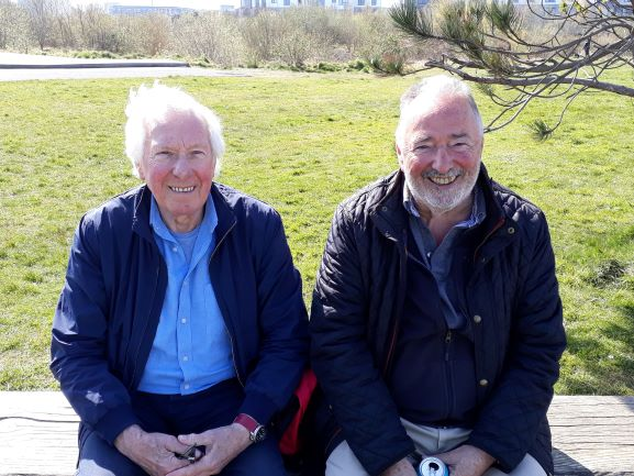 Smiles Nos 245-246. Mike and Stan from Newhaven, Edinburgh.