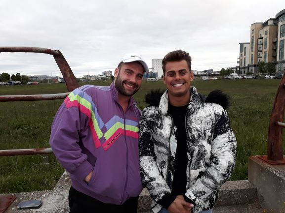 Smiles Nos.278-279 Michael and Nathan from Newhaven and Leith, Edinburgh.