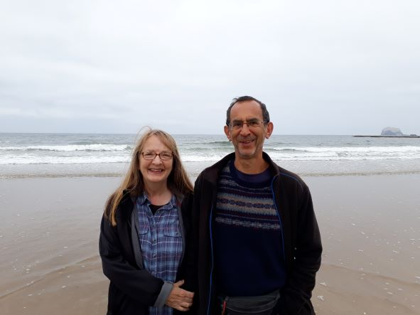 Smiles Nos.296-297 David and Maureen from North Berwick.