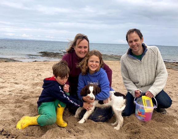 Smiles Nos.303-306 Corin, Polly, Tessa and Ben with Cocoa photo bombing this one!