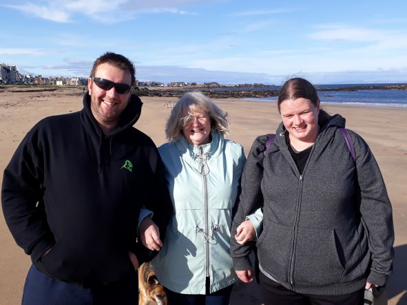 Smiles Nos.328-330 Chris, Maureen and Julie from Larkhall near Glasgow.